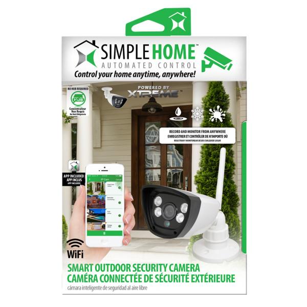 Smart Outdoor Wi-Fi Security Camera • Go Simple Home