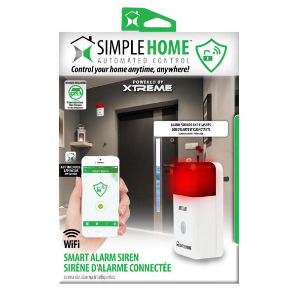 Smart Wi-Fi Alarm Siren • Go Simple Home