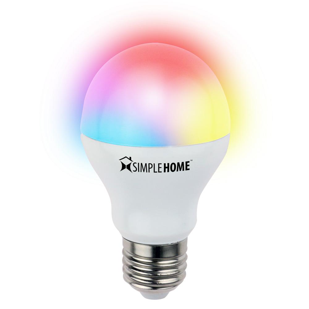 Multicolor Smart Wi-Fi LED Bulb • Go Simple Home