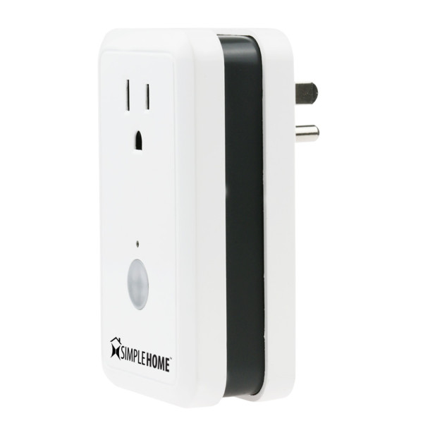 Smartphone Controlled Outlet smart wifi controlled wall outlet • go simple home