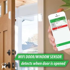 Get alerted when someone opens a door or window inhellip