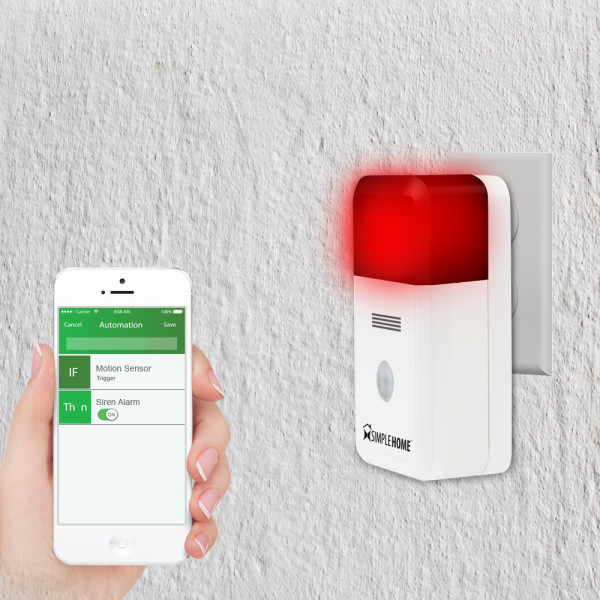 Smart Wi-Fi Alarm Siren • Go Simple Home