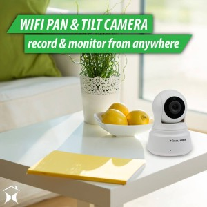 Record and monitor your home with this Pan amp Tilthellip