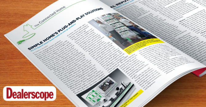 Dealerscope Plug-and-Play Solutions by Nancy Klosek