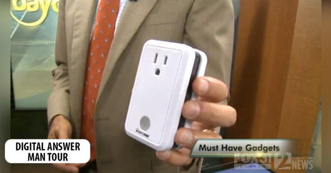 CTA spokesman, Jim Barry, on Simple Home Gadgets